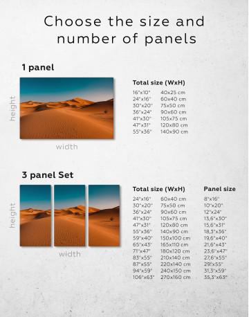 Beautiful Sand of Desert Dune Canvas Wall Art - image 10