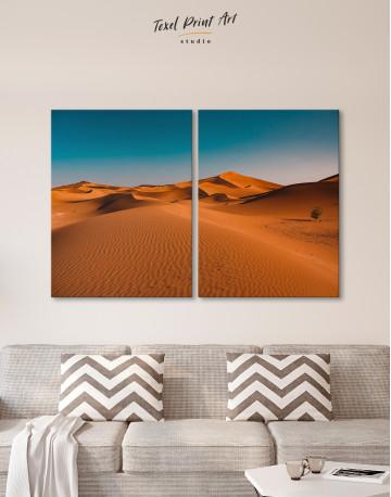 Beautiful Sand of Desert Dune Canvas Wall Art - image 9