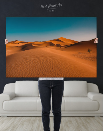 Beautiful Sand of Desert Dune Canvas Wall Art - image 1