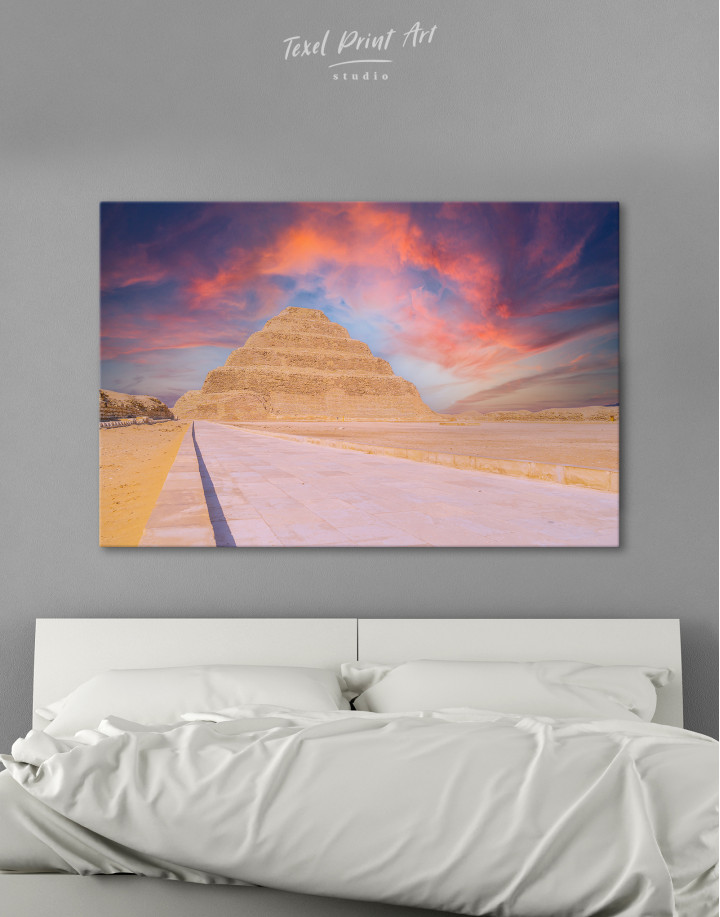 Pyramid of Djoser Canvas Wall Art
