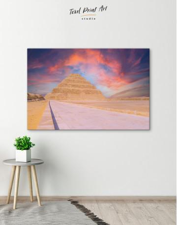 Pyramid of Djoser Canvas Wall Art - image 6