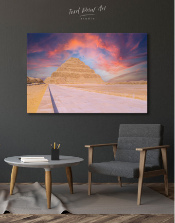 Pyramid of Djoser Canvas Wall Art - image 4
