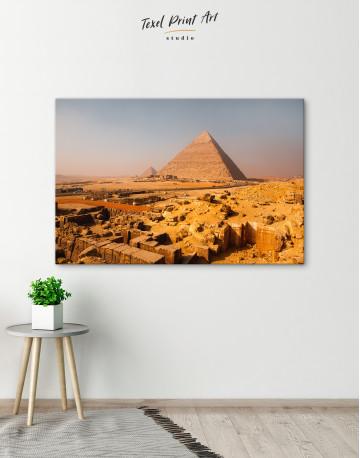Great Pyramid of Giza Print Canvas Wall Art - image 3
