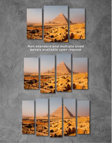 Great Pyramid of Giza Print Canvas Wall Art - image 4
