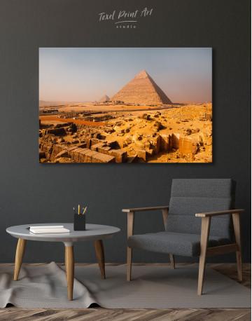 Great Pyramid of Giza Print Canvas Wall Art - image 5