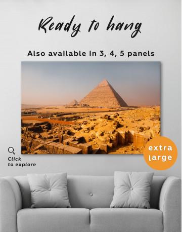 Great Pyramid of Giza Print Canvas Wall Art - image 7