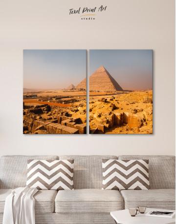 Great Pyramid of Giza Print Canvas Wall Art - image 9