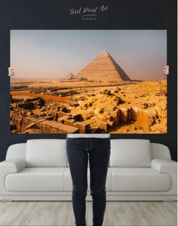 Great Pyramid of Giza Print Canvas Wall Art - image 8