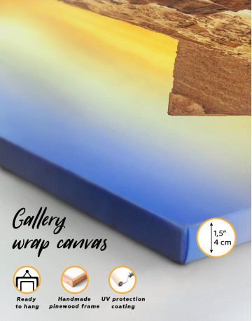 Ancient Giza Pyramid at Sunset Canvas Wall Art - image 7
