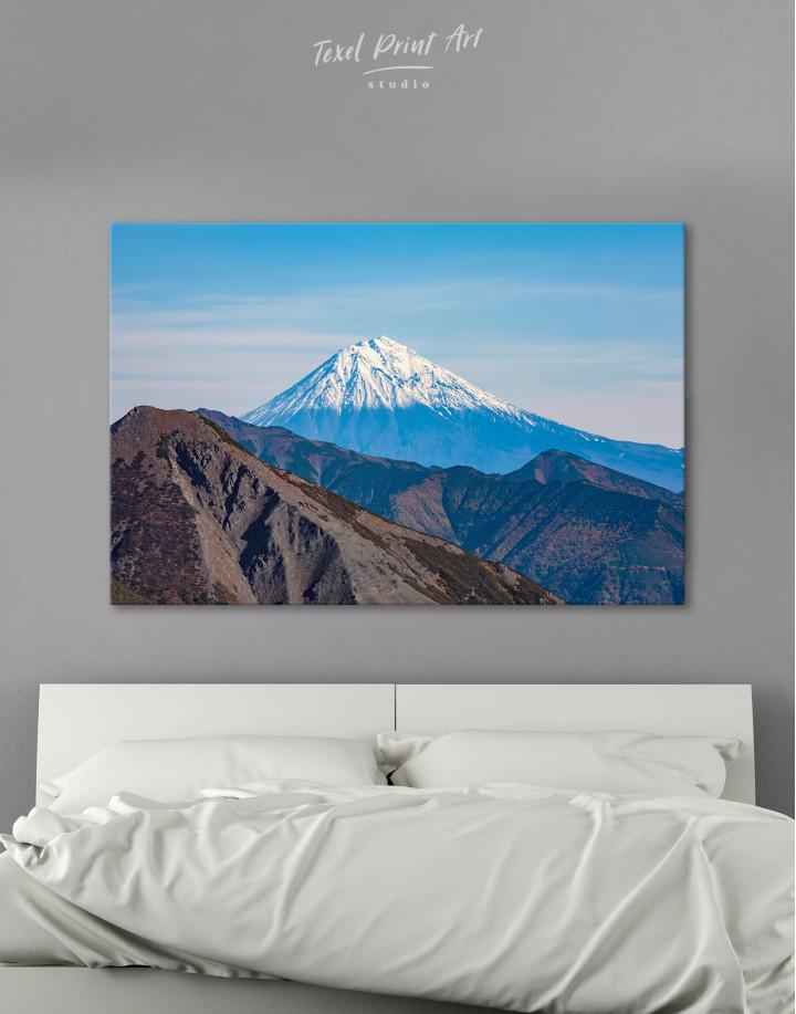 Volcanoes of Kamchatka Landscape Canvas Wall Art