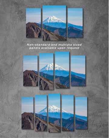 Volcanoes of Kamchatka Landscape Canvas Wall Art - image 5