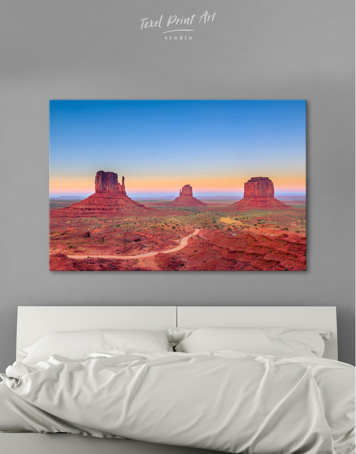 Grand Canyon National Park at Sunset Canvas Wall Art