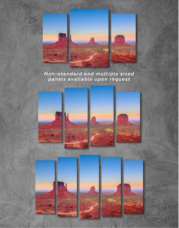 Grand Canyon National Park at Sunset Canvas Wall Art - image 5