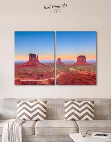 Grand Canyon National Park at Sunset Canvas Wall Art - image 10