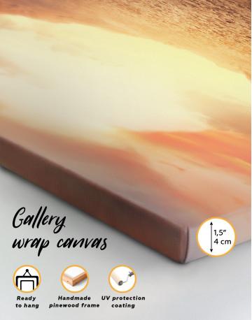 Desert Sun Canvas Wall Art - image 8
