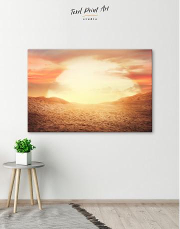 Desert Sun Canvas Wall Art - image 6