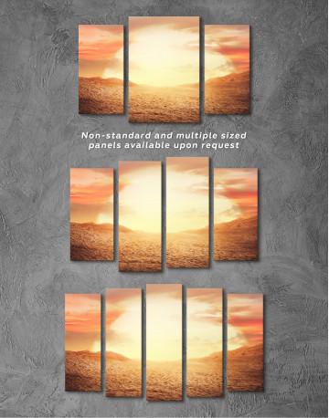 Desert Sun Canvas Wall Art - image 5