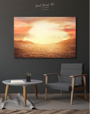 Desert Sun Canvas Wall Art - image 4