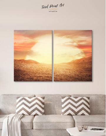 Desert Sun Canvas Wall Art - image 10