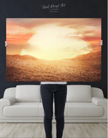 Desert Sun Canvas Wall Art - image 9