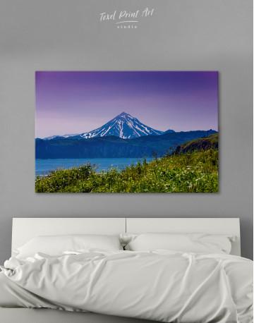 Vilyuchinsky Volcano in Kamchatka Canvas Wall Art
