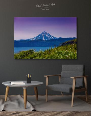Vilyuchinsky Volcano in Kamchatka Canvas Wall Art - image 4