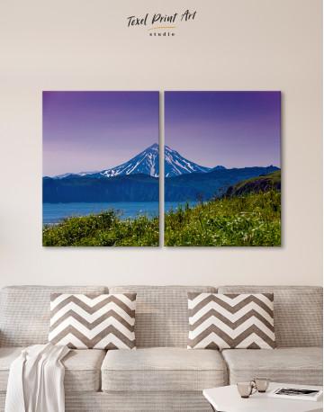 Vilyuchinsky Volcano in Kamchatka Canvas Wall Art - image 10