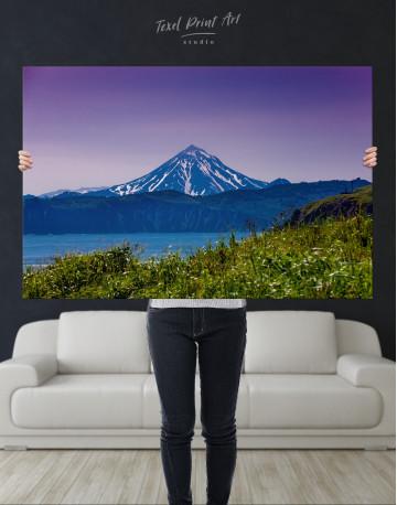 Vilyuchinsky Volcano in Kamchatka Canvas Wall Art - image 9