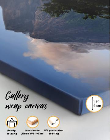 Yogyakarta Volcano Erupting Canvas Wall Art - image 8