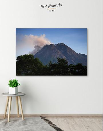 Yogyakarta Volcano Erupting Canvas Wall Art - image 5