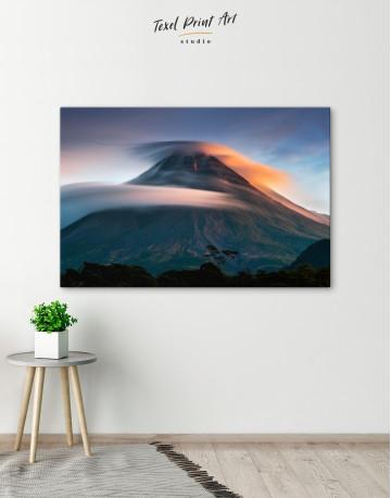 Mount Merapi Yogyakarta Volcano Indonesia Canvas Wall Art - image 6