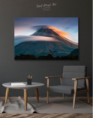 Mount Merapi Yogyakarta Volcano Indonesia Canvas Wall Art - image 4