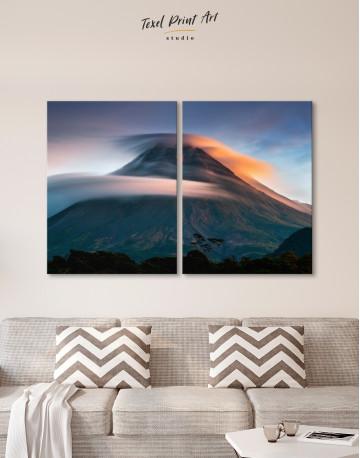 Mount Merapi Yogyakarta Volcano Indonesia Canvas Wall Art - image 10