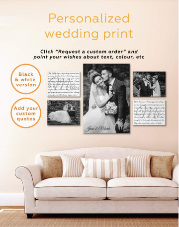 Personalized Family Wall Art Canvas Print Canvas Wall Art - image 3