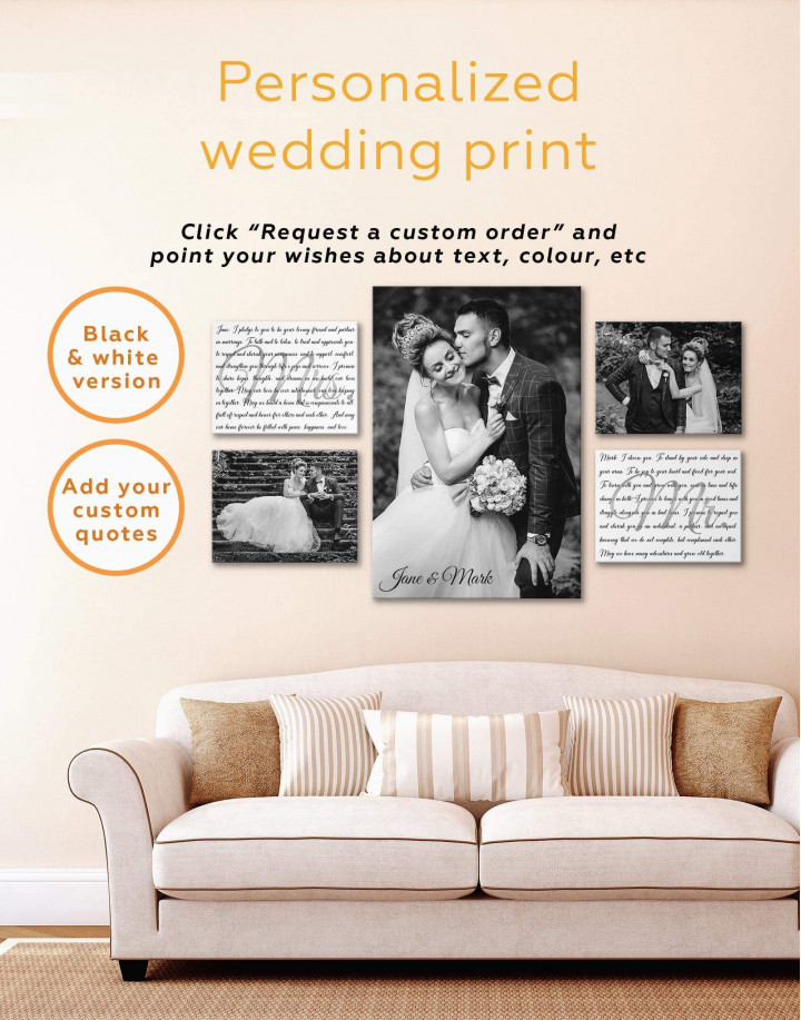 Personalized Family    Print Canvas Wall Art - Image 3