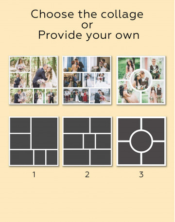 Personalized Photo Collage Wall Art Canvas Print Canvas Wall Art - image 6