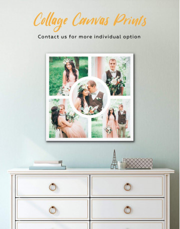 Personalized Photo Collage Wall Art Canvas Print Canvas Wall Art - image 2