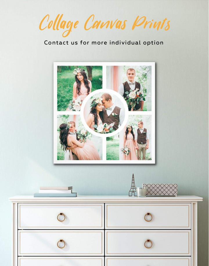 Personalized Photo Collage    Print Canvas Wall Art - Image 2