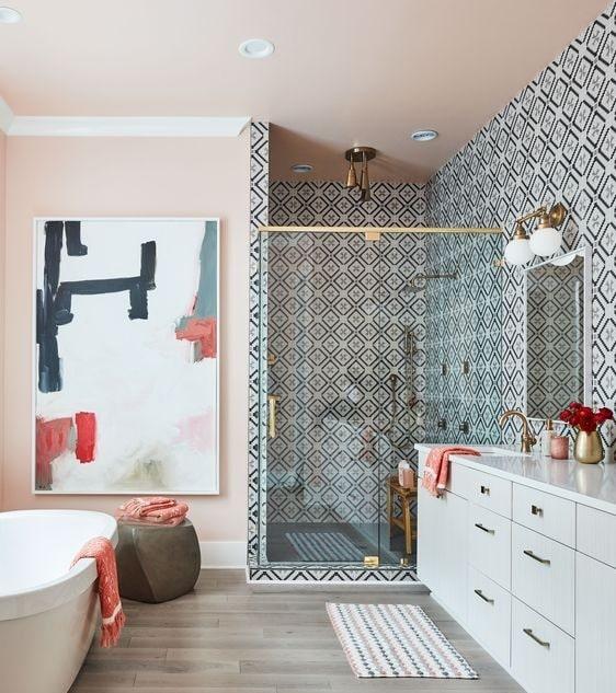Abstract bathroom