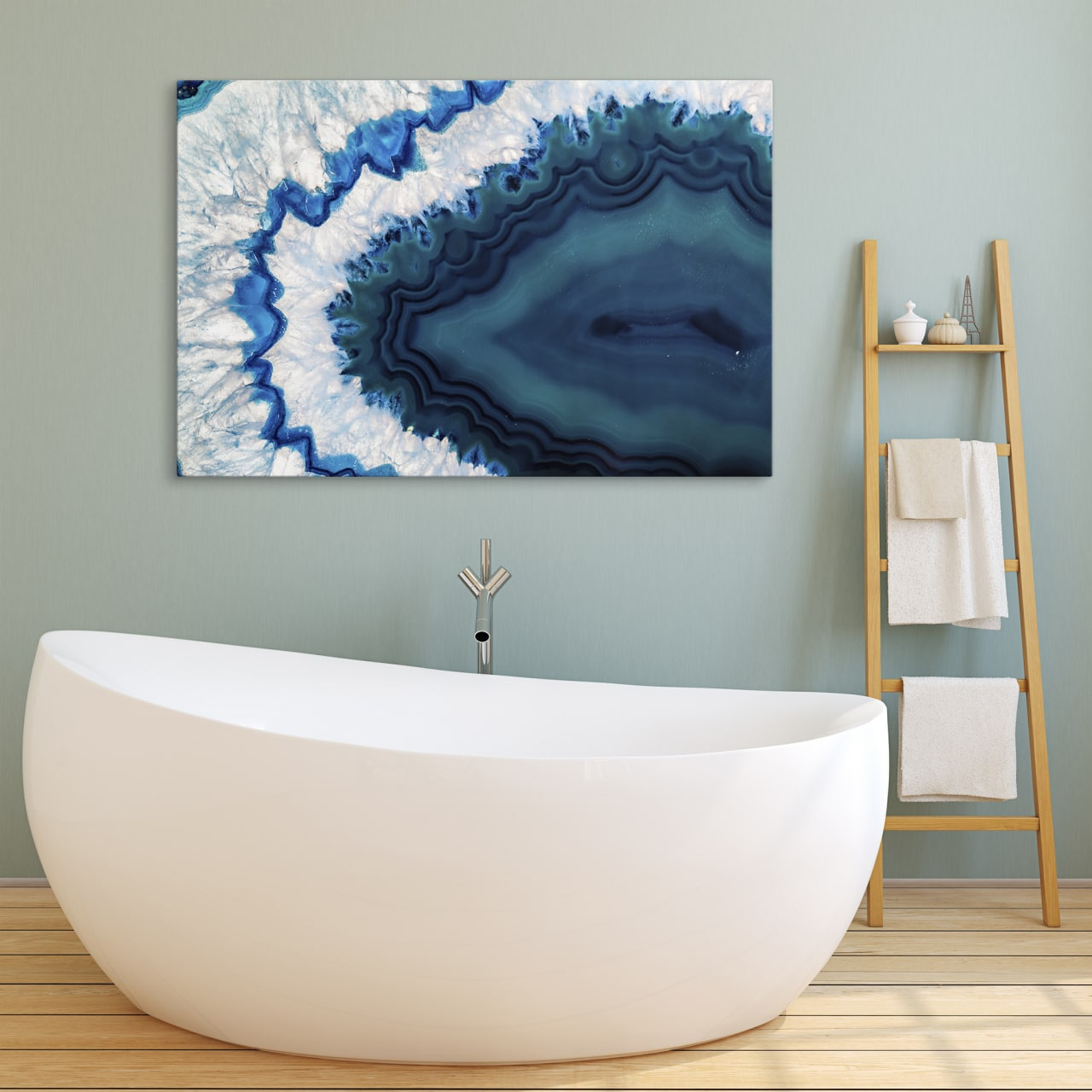 Best blue wall arts for bedroom